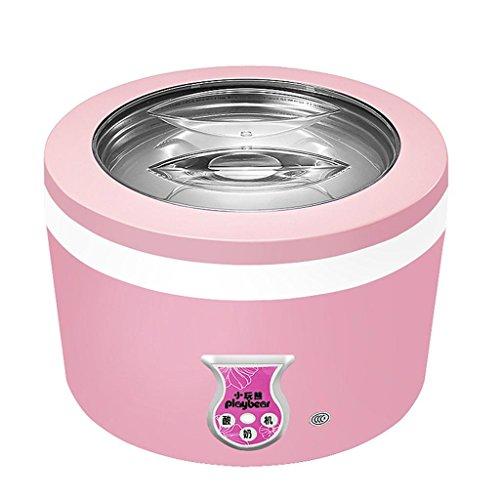 MNIICreatore di Yogurt Digitale Maker Pure Yogurt 1L Rivestimento in acciaio inox Completamente automatico Controllo automatico della temperatura di yogurt da 24 ore