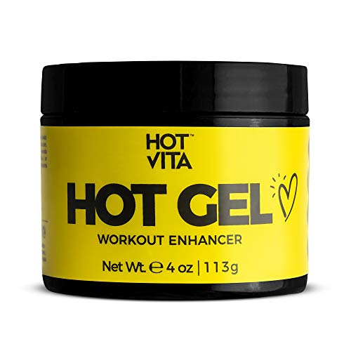Hot Vita Hot Gel – Sweat Cream Workout Enhancer Belly Slimming Gel (4 oz)