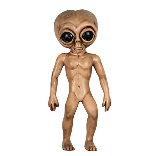 Alien Latex Prop Halloween Aliens Foam Toy (Black)