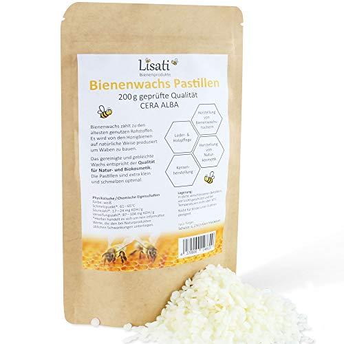 Premium bijenwaspastilles voor de productie van cosmetica, bijenwasdoekjes