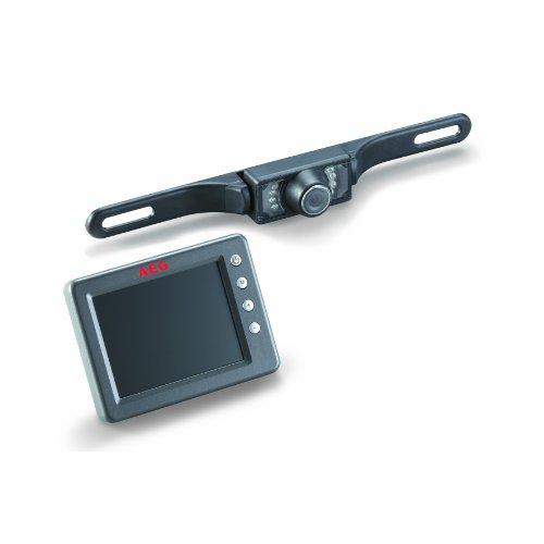 AEG Automotive 97152 Sistema Inalámbrico de Cámaras Posteriores RV 3.5, con Pantalla LCD en Color y Función de Visión Nocturna