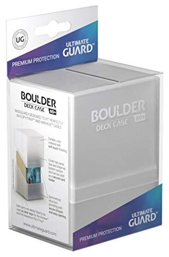 Ultimate Guard UGD010681 Boulder Deck Case, 80 Plus, Standardgröße, Frosted