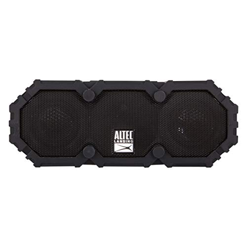 Altec Lansing Imw477 Mini LifeJacket 2 Bluetooth Speaker, IP67 Waterproof, Shockproof, Snowproof and IT Floats Rating, with 10 Hours of Battery Life, 30 Foot Wireless Range, Black