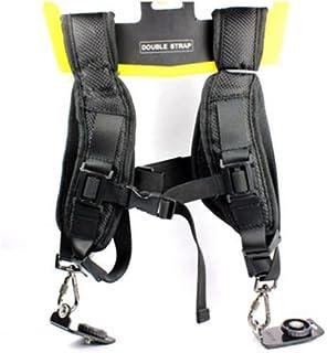 BW Doppelte Schulterriemen und Gürtelklemme für Canon Nikon Sony DSLR Kamera