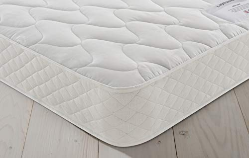 Layezee by Silentnight 600 Pocket Rolled Mattress, Back Support and Pressure Relief, Hypoallergenic, Medium, Single