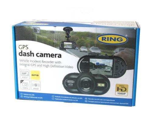 Ring Full HD Dash Cam GPS In Auto Dashcam Camera Recorder 2