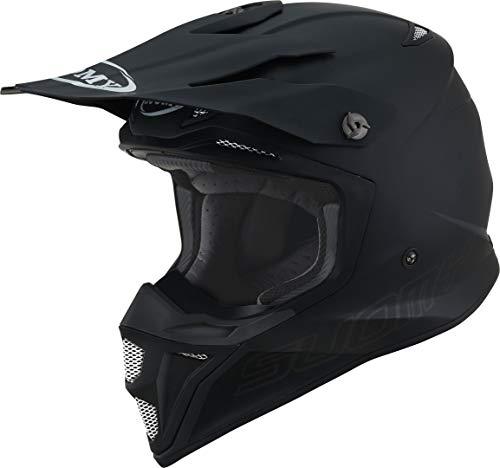 Suomy MX Speed Pro Plain Motocross Helm Schwarz Matt M (57/58)