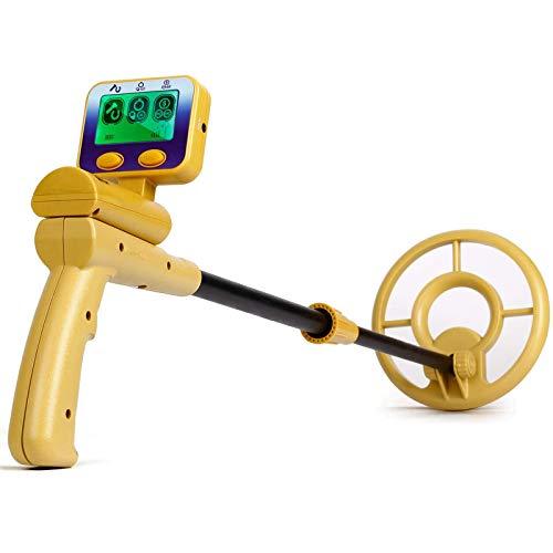 INTEY - Detector de metales GC-1012 para niños, adecuado para encontrar tesoros