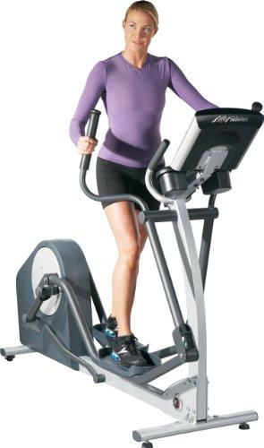 Life Fitness Crosstrainer X1 Go - Elíptica de Fitness, Color Negro