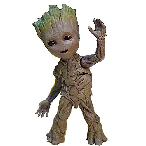 HAOBO Giocattoli per Bambini Groot Little Tree Man Model Mobile Boxed Figura