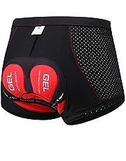 SOLO ACTFIT Fietsonderbroek voor heren, fietsbroek met 4D-gel zitkussen, MTB, wielersportondergoed, ademend, sneldrogend, elastisch