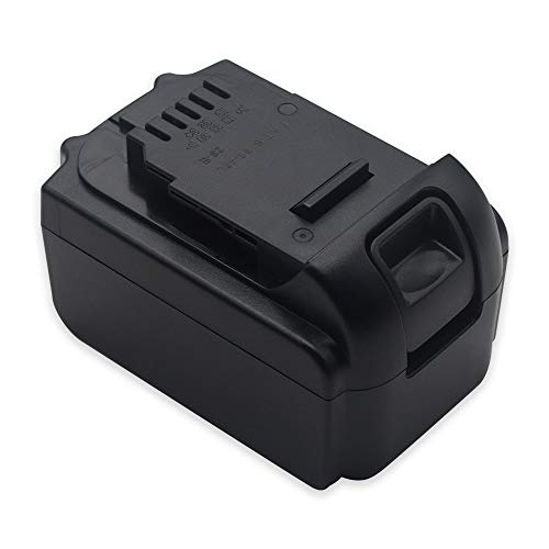 HSW 18V 5.0Ah Lithium-ion DCB180 Replacement Battery for Dewalt DCB205 DCB204 DCB180 DCB181 DCB201 DCB203 DCB204 DCB204-2 DCB205-2 DCB206 DCB200-2 DCB200 Series Cordless Power Drill Tools Batteries