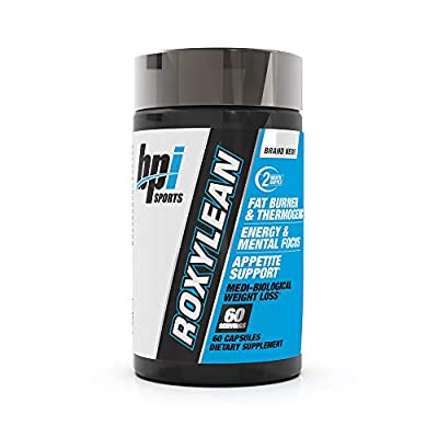 BPI Sports Roxylean Extreme Fat Burner and Weight Loss Supplement, 60 Count