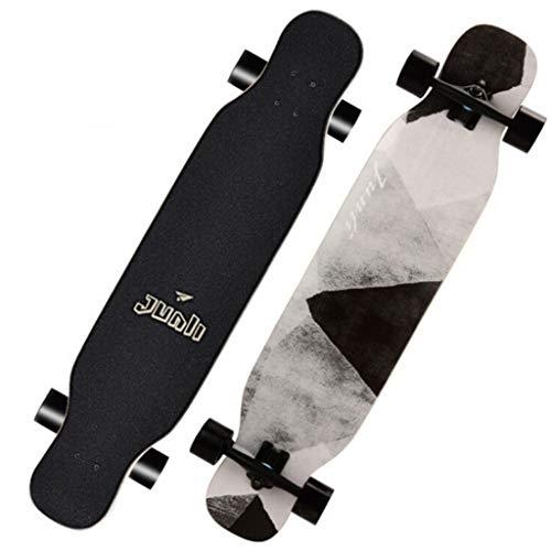 108 * 23.5cm Skateboard Complete, Ultrasport Longboard, Tablas de Ruedas, Cruiser Board Brush Street con rodamientos ABEC de Alta Velocidad para Adultos, Adolescentes y niños