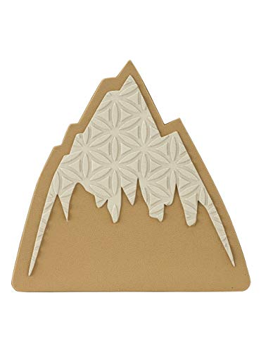 Burton Unisex– Erwachsene Foam Mats Anti Rutschmatte, Mountain Logo