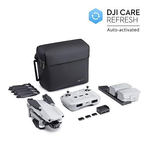 DJI Mavic Air 2 Fly More Combo + Care Bundle - Drohne, 48MP 4K-Kamera, 3-Achsen-Stabilisator, 34-minütiger Flug, DJI Care automatisch aktivierter Austauschservice exklusiv für Amazon