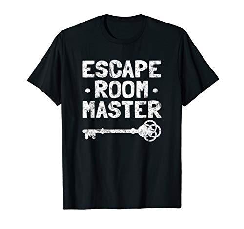 Escape Room Gift T Shirt Vintage Escape Room Master