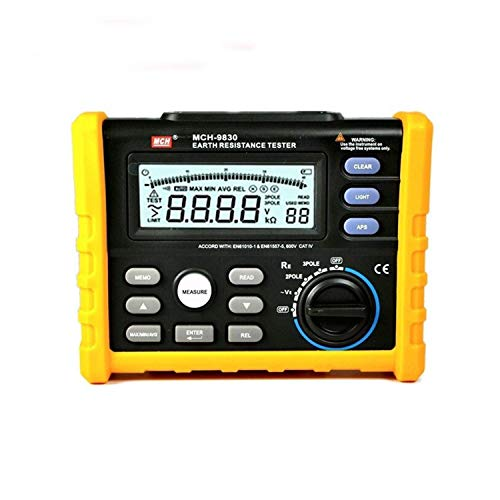 For Sale! ZYL-YL Digital Grounding Resistance Tester Megaohm Resistance Meter Multifunction Digital ...