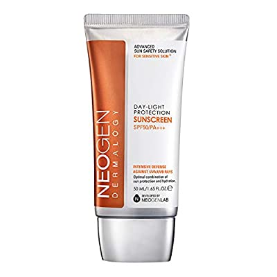 Neogen Dermalogy Day-Light Protection Sun Screen 50ml/1.65FL.OZ. SPF50/PA+++ Intensive Defense Against UVA/UVB Rays