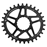 Wolf Tooth Oval Boost Race Face Plato Bicicleta, Negro, 32