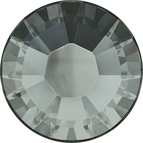 Swarovski® Kristalle 2038 HotFix SS10 (ca. 2.8mm) 100 Stück Black Diamond