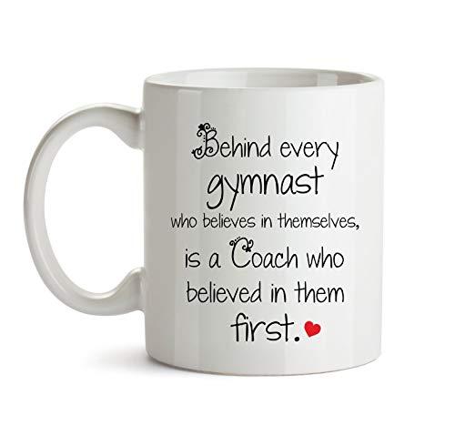Taza para profesor de gimnasta, regalo para entrenador de gimnasta, regalo para profesores de gimnasia, regalo de agradecimiento para profesores de gimnasia, profesores de gimnasia, taza de café