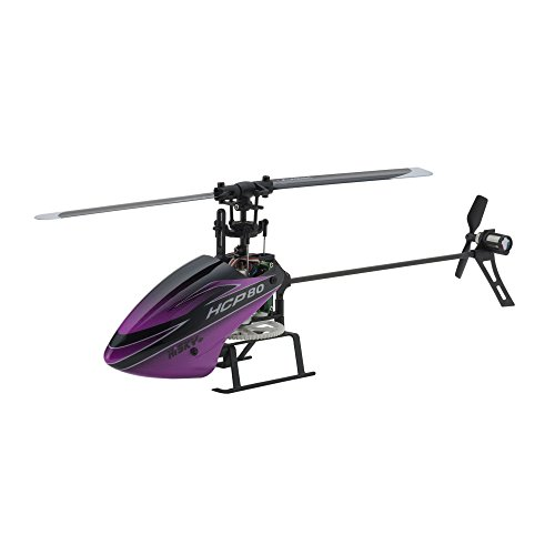 HiSKY 6-axis gyro + variable pitch HCP80 V2 Ready Set Kyosho 20022 (120mm size electric micro 3D helicopter series)