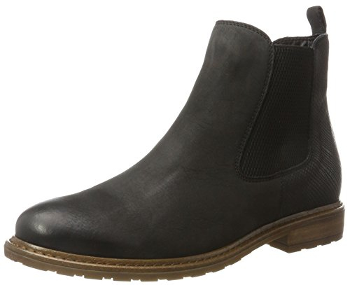Tamaris Damen 25056 Chelsea Boots, Schwarz (Black), 40 EU