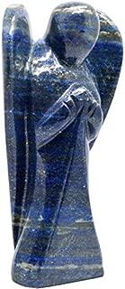 Healing Crystals India Traditional Natural Gemstone Guardian Angel Spiritual Figurine, 3