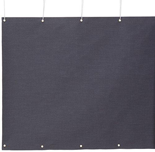 Angerer Balkonbespannung Style Anthrazit, Höhe 90 cm, Länge 8 Meter, 3320/262_800