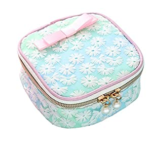 Clearance Sale!UMFun Cute Lace Embroidery Travel Cosmetic Bag Sanitary Napkin Jewelry Storage Bag