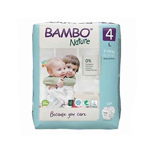 Bambo Nature luiers Maxi, 770 g
