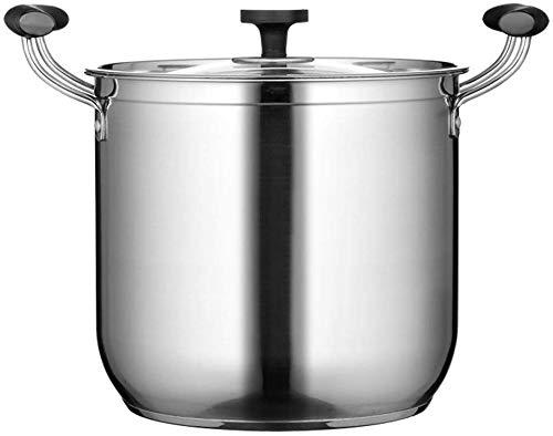 Crisol soeppan van roestvrij staal, voor het koken van dubbele ketels, hete potten, keukengerei, keukengerei, stoomreiniger