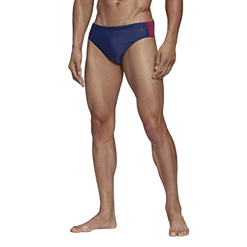 adidas Herren Swimsuit FIT TR 3S, tech Indigo/Scarlet, 6, FJ4717