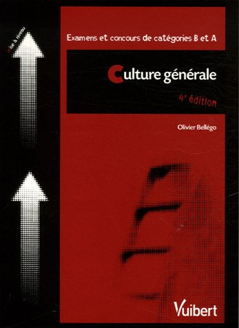 Culture Generale Examens Et Concours De Categories B Et A