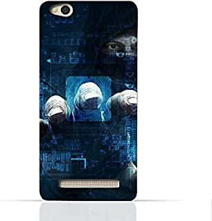Xiaomi Redmi 4A TPU Silicone Case With Dangerous Hacker Design