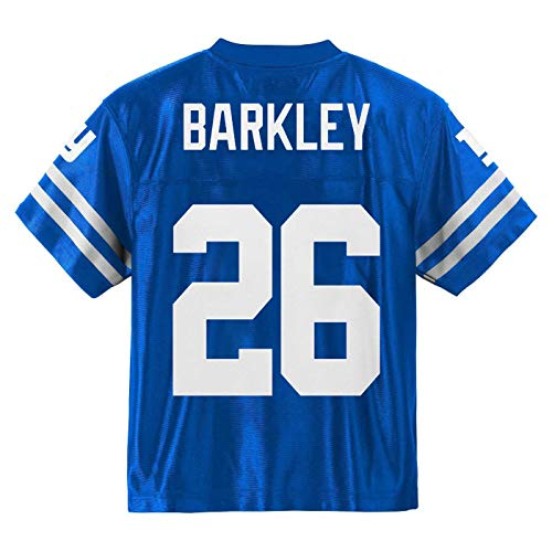 Saquon Barkley New York Giants #26 Blue Youth Player Home Jersey (Medium 10/12)