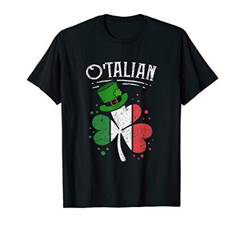 O'talian Funny Italian Irish Relationship St Patrick's Day T-Shirt