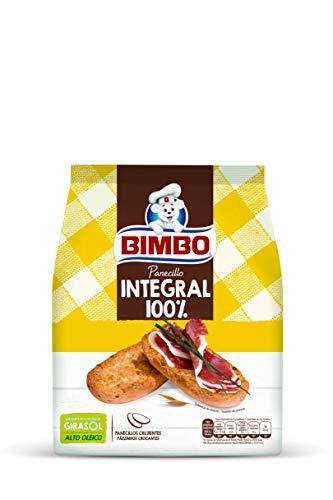 Bimbo Panecillo Tostado Integral, 20 uds, 234 gr, Pack de 12
