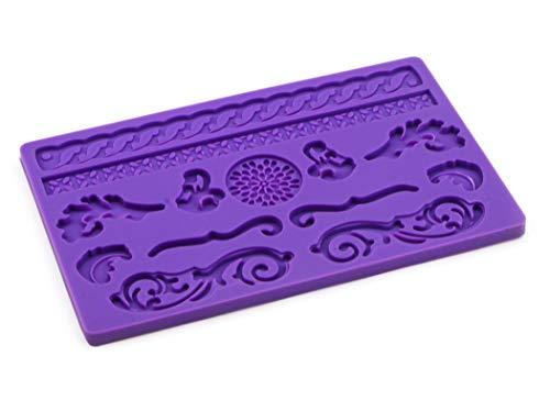 Pati-Versand 12681 Moule, Silicone, Violet, 24 x 15 x 1 cm