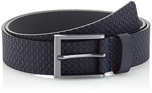 BOSS Ther-HB_sz35 Cinturón, Azul (Navy 410), 120 (Talla del fabricante: 105) para Hombre