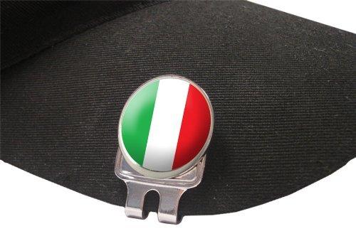 Asbri Italia Fusion cap Clip Magnetica, Golf Ball Marker by Golf