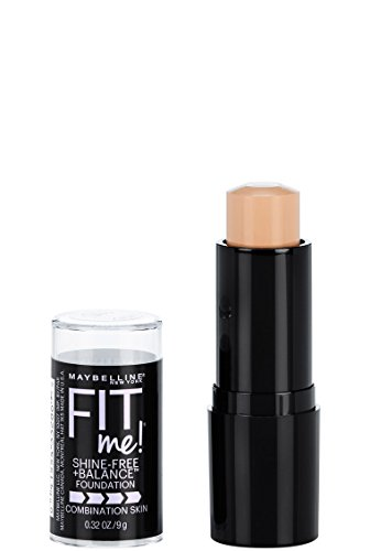 MAYBELLINE - Fit Me Shine-Free Foundation 120 Classic Ivory - 0.32 fl. oz. (9 ml)