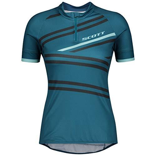Scott Endurance 30 Damen Fahrrad Trikot kurz blau 2020: Größe: L (40/42)