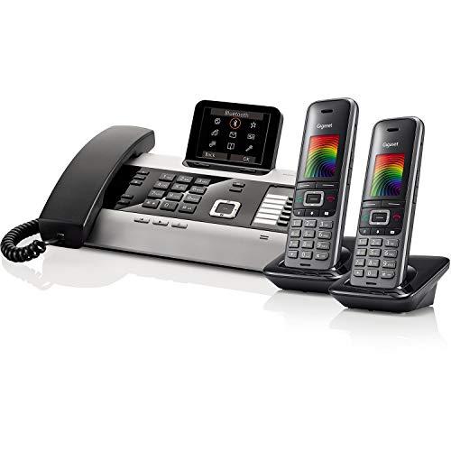 Gigaset DX800A Pro & 2 x S650H Pro Office Bundle