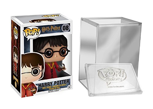 Funko POP! Harry Potter: Harry Potter con el traje Quidditch + caja protectora