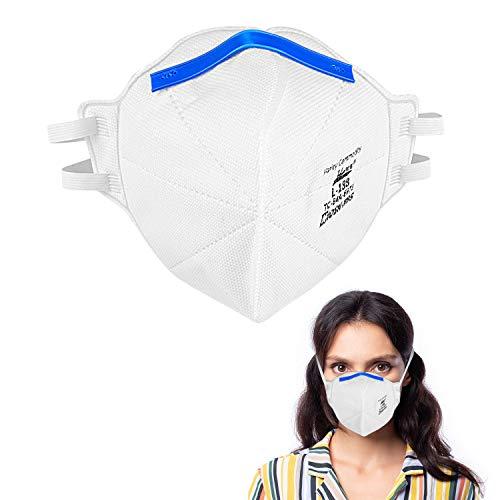 Vibeey アメリカNIOSH承認 N95マスク 不織布 3D立体構造 20枚