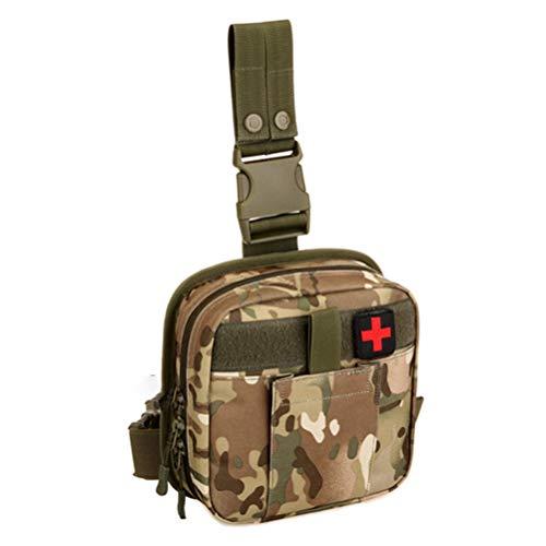 Macabolo EHBO-tas voor noodgevallen, suivival, taille, dijbeen, tas voor outdoor, klimmen en wandelen