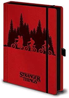 Stranger Things Upside Down - Cuaderno de notas A5