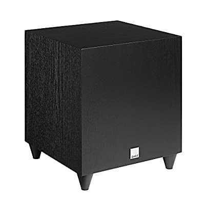 Dali C8D Subwoofer Black Ash from Dali